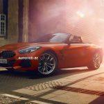 BMW Z4 2019 lộ thiết kế ấn tượng