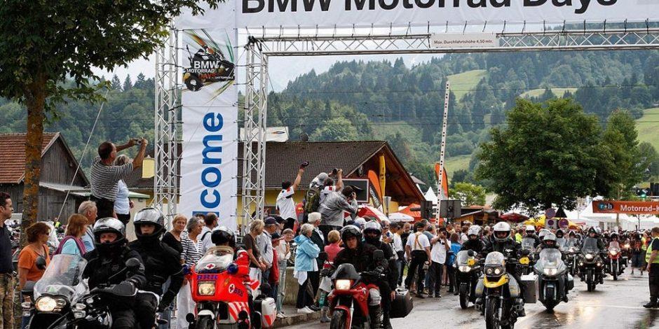 BMW Motorrad Days tại Garmisch-Partenkirchen (Đức)