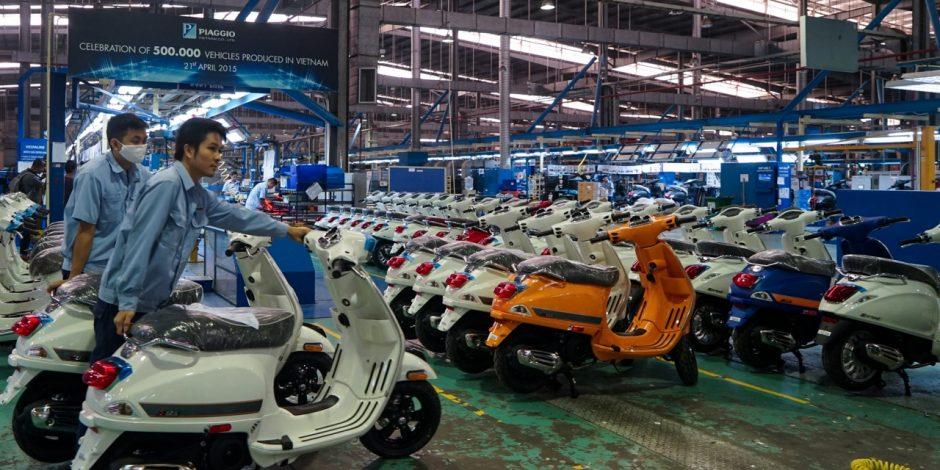 Tới nay, toàn bộ xe Vespa xuất xưởng từ Việt Nam ra thị trường quốc tế đều là loại sử dụng xăng truyền thống.