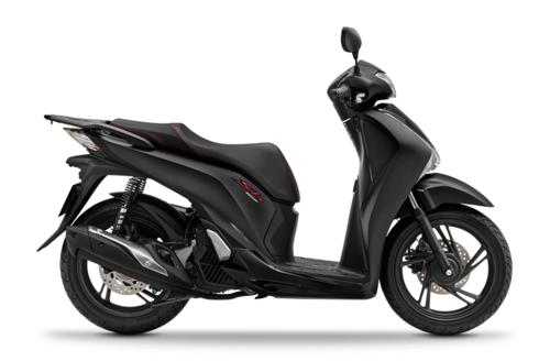 SH 150 có thêm màu sơn đen mờ mới.