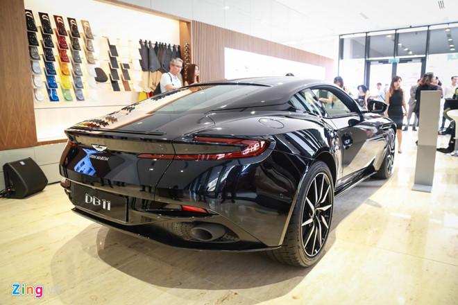 Sieu xe Aston Martin DB11 vua ra mat tai VN, gia 15,7 ty dong hinh anh 7
