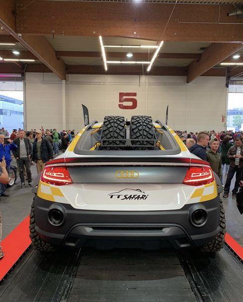 Can canh 'chien binh sa mac' Audi TT Safari hinh anh 6