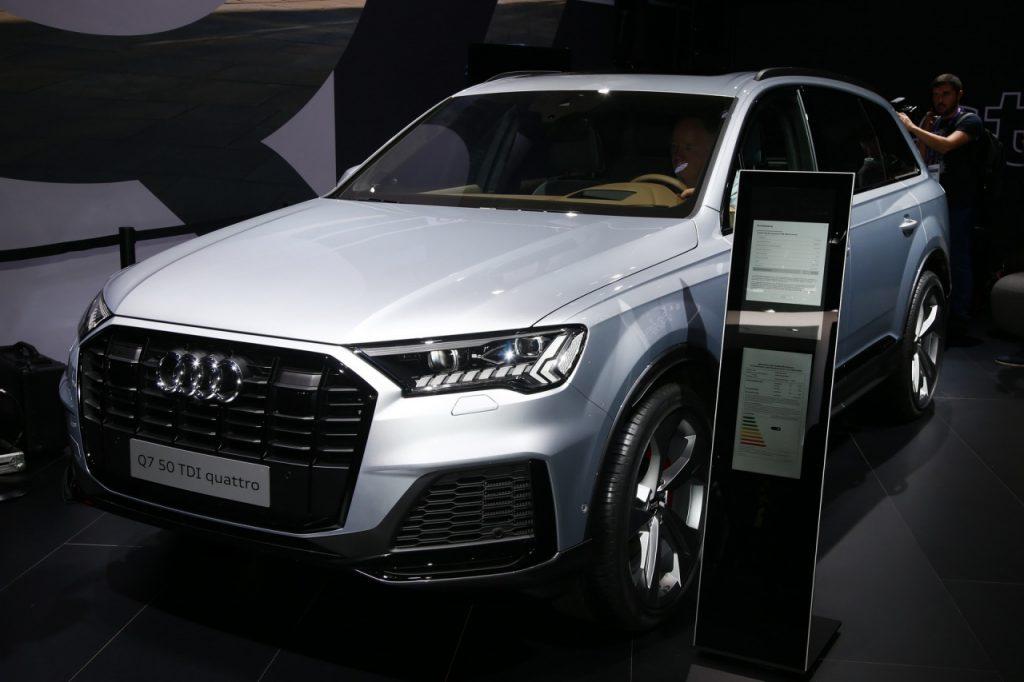 Fms 2019 Ngắm Audi Q7 2020 Với Diện Mạo Trau Chuốt Nội Thất Hiện đại