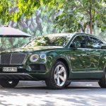 Bentley Bentayga màu xanh lá độc nhất Việt Nam tái xuất