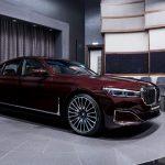 BMW 750LI 2020 quyến rũ trong áo đỏ Royal Burgundy