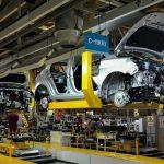 Tháng 5, sản lượng ô tô Anh rơi đáy