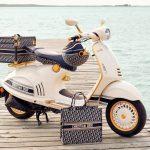 Vespa cùng Christian Dior tạo nên phiên bản đặc biệt Vespa 946 Dior