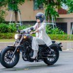 Cận cảnh mô tô phân khối lớn của Hoa hậu H'Hen Nie