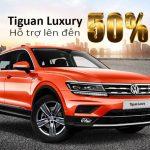 Volkswagen hỗ trợ 50% phí trước bạ cho Tiguan Allspace Luxury