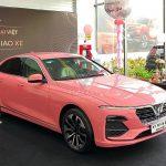 Điểm danh loạt ô tô tiền tỷ màu hồng nữ tính ở Việt Nam