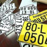 Từ 1/8, xe kinh doanh vận tải phải đổi biển số màu trắng sang màu vàng