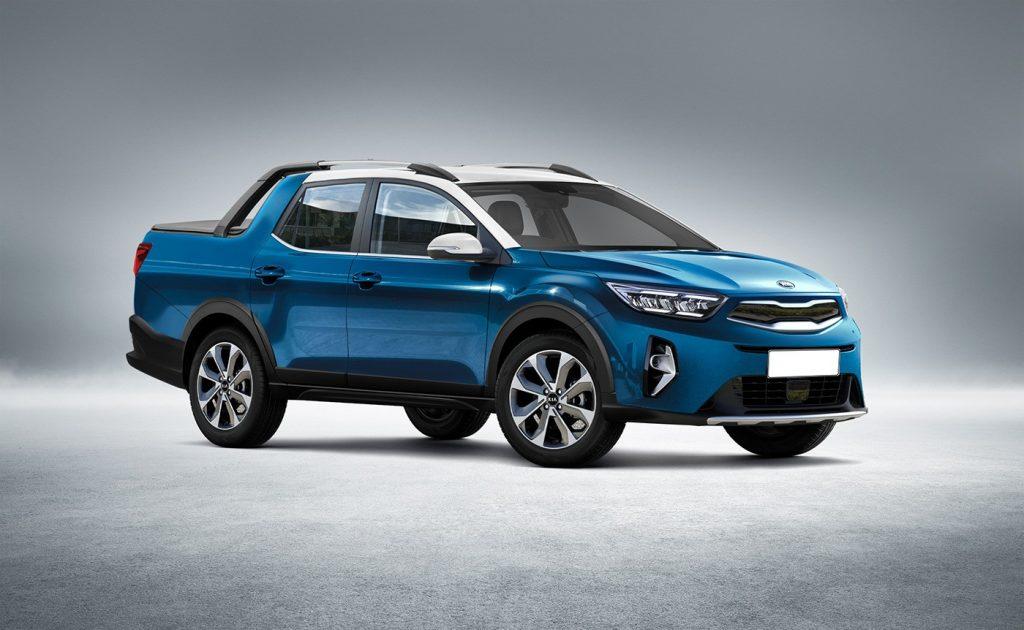 Kia sắp ra mắt chiếc bán tải mới đối đầu với Ford Ranger