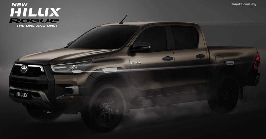 Toyota Hilux 2021 vừa ra mắt ở Malaysia, chờ ngày về Việt Nam