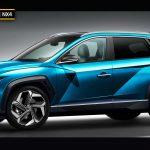 """Thêm ảnh đồ họa """"lột xác"""" cực chất chiếc Hyundai Tucson 2021 sắp ra mắt"""