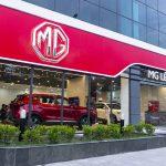 MG khai trương đồng loạt 5 đại lý tại Việt Nam