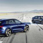 Audi E-Tron S 2021 xuất hiện với động cơ lạ lần đầu có mặt trên thị trường thương mại