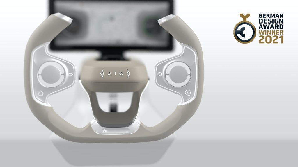 Origo Steering Wheel - Vô lăng tuyệt đỉnh điều khiển mọi tính năng xe bằng ngón tay cái