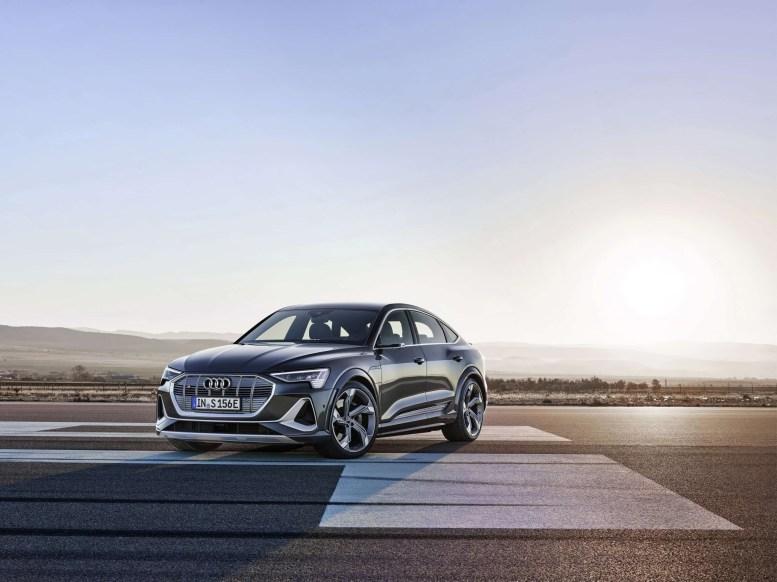 Audi E-Tron S 2021 xuất hiện với bộ động cơ lạ lần đầu có trên thị trường thương mại