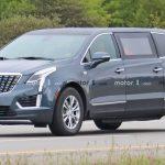 Cadillac XT5 limousine bí ẩn trên đường thử