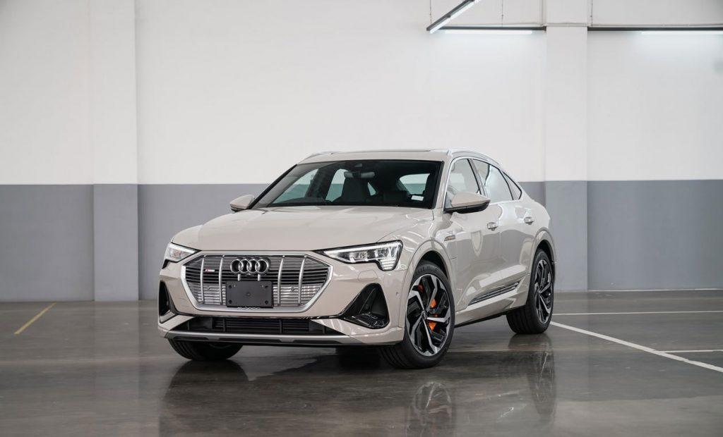 Audi e-tron Sportback có giá 170.000 USD lộ diện tại Thái Lan