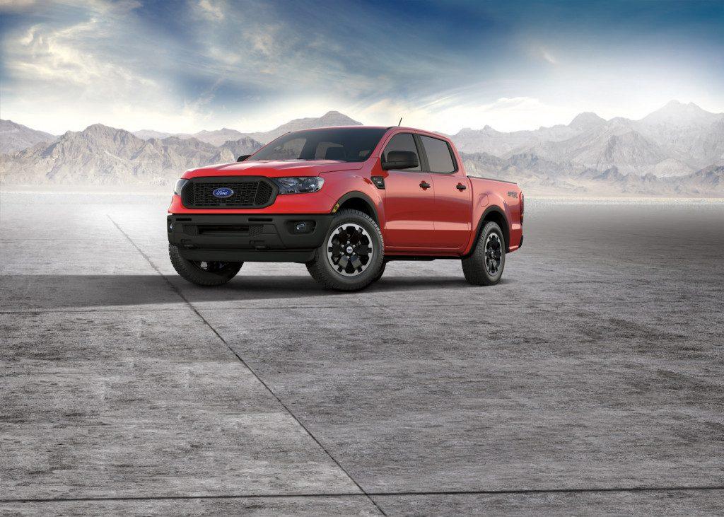 Vén màn điểm sáng chiếc Ford Ranger 2021 bản độ đặc biệt