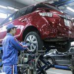 Toyota thay dầu miễn phí cho khách hàng tại miền Trung