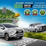 Mitsubishi Xpander và Attrage tham gia thử thách lái xe tiết kiệm nhiên liệu 2020