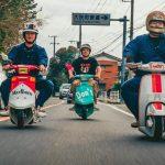 Những chiếc xe tay ga động cơ 50 cc được độ điên rồ tại Nhật Bản
