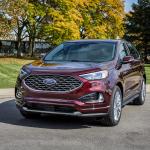 Ford Edge 2021 nâng cấp công nghệ đối đầu với Kia Sorento