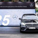 Sau 25 năm hoạt động, đã có hơn 40.000 xe Mercedes lăn bánh tại Việt Nam