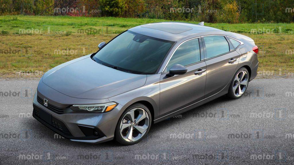 Soi bản phác thảo mới mẫu Honda Civic 2022