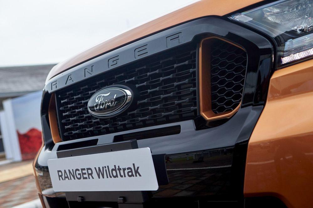 Chiêm ngưỡng phiên bản nâng cấp Ford Ranger Wildtrak ra mắt tại Thái Lan