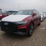 Lô xe Audi Q8 2021 chính hãng đầu tiên về Việt Nam