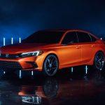 Honda Civic 2022 lộ diện
