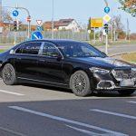 Mercedes-Maybach S-Class mới lộ ảnh chạy thử