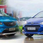 Vì sao Hyundai Grand i10 5 lần 7 lượt bị VinFast Fadil vượt mặt?