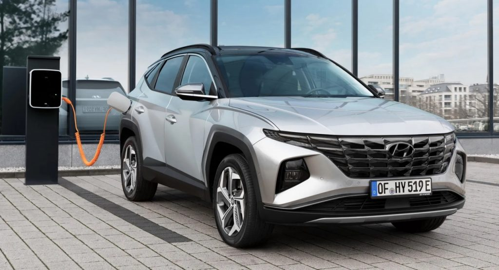 Hyundai Tucson Plug-In Hybrid 2022 sắp lộ diện