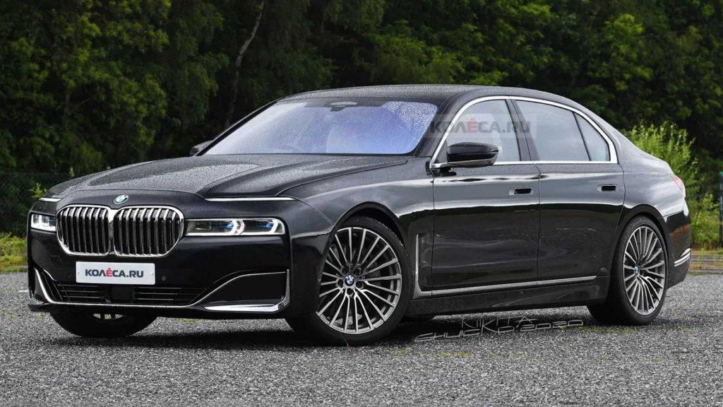 Lộ ảnh phác thảo thiết kế của BMW 7-Series thế hệ mới
