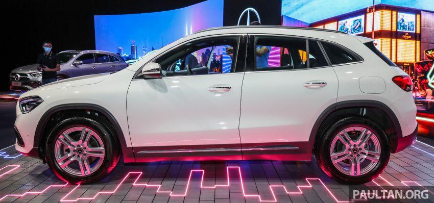 Mercedes-Benz GLA 2021 ra mắt tại Malaysia có gì đặc biệt?