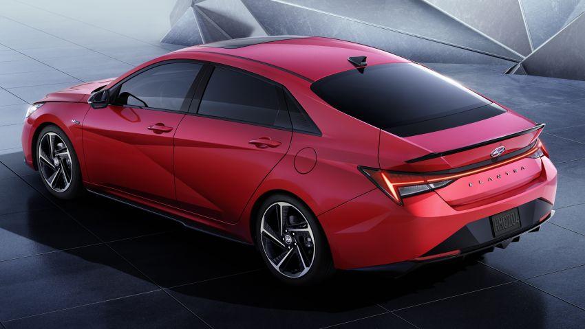 Hyundai Elantra 2021 sẽ hạn cánh đầu tiên tại Malaysia