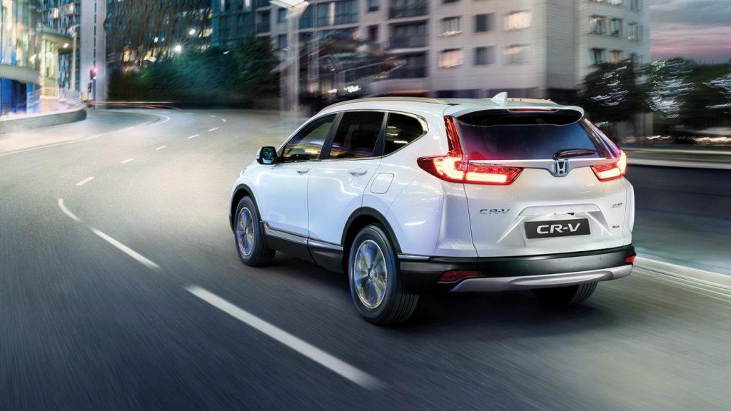 Honda CR-V hybrid 2021 chính thức ra mắt giá từ 933 triệu
