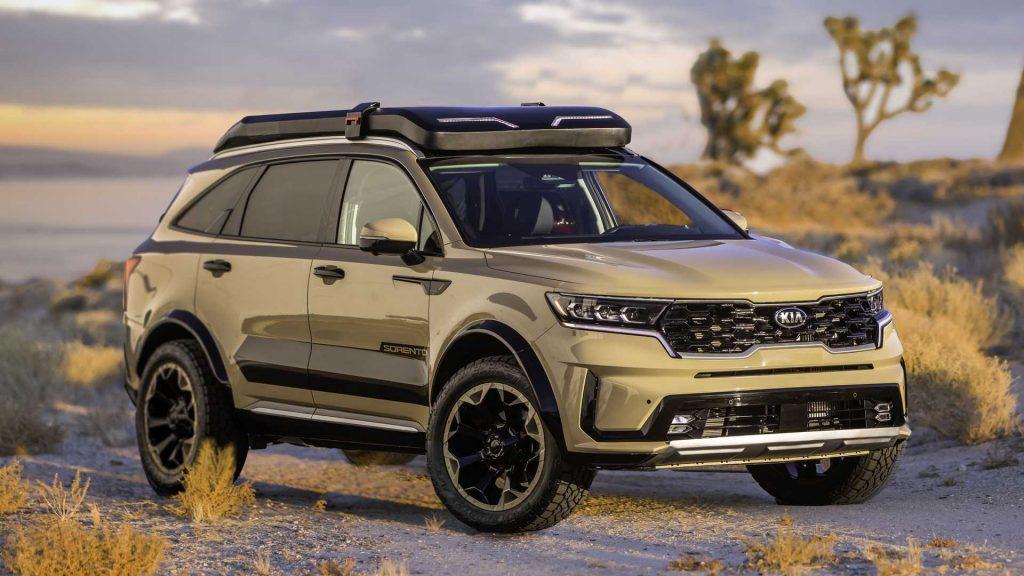 Hai phiên bản off-road mới của dòng Kia Sorento 2021 chinh phục sa mạc, đồi núi