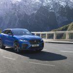 Jaguar F-PACE SVR bản mới, hiệu suất mạnh mẽ hơn