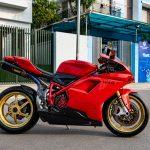 Diện kiến Ducati 848 Evo độ khủng của tay chơi Hà Nội
