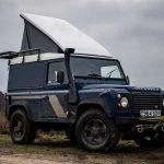 Khám phá mẫu Land Rover Defender nâng cấp thành lều cắm trại di động