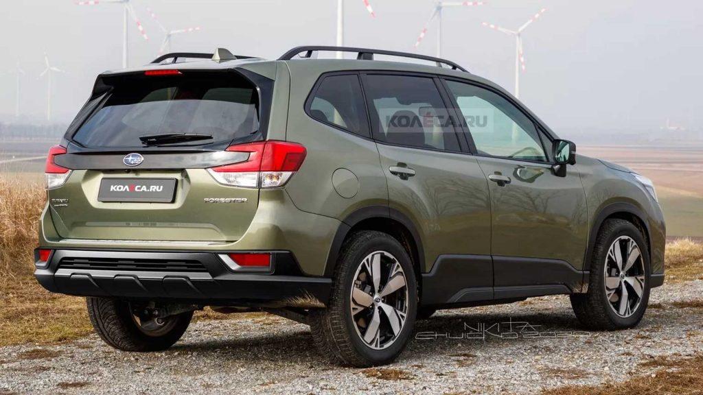 Soi chiếc Subaru Forester 2022 phiên bản nâng cấp ngoại thất mới hoàn toàn