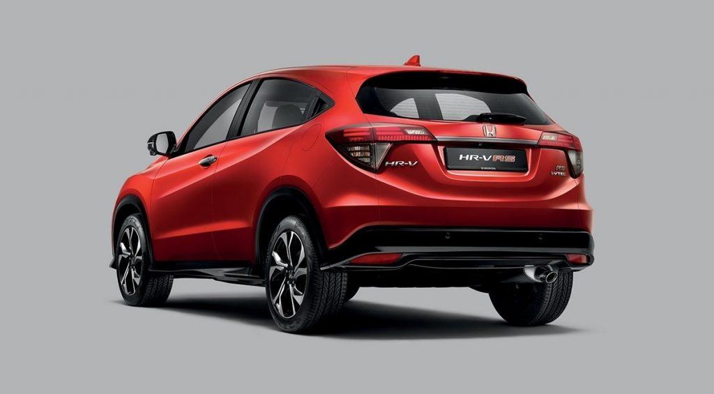 Honda HR-V 2021 vừa ra mắt tại thị trường Malaysia