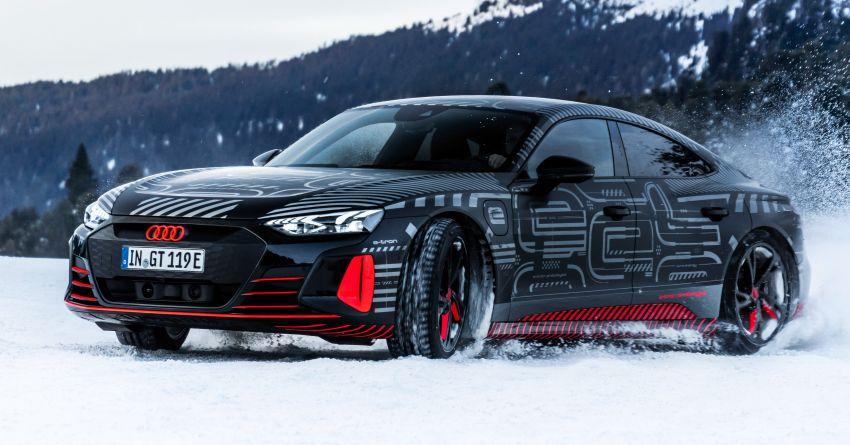 Audi e-tron GT sẽ lộ diện vào tháng tới cùng thông số kỹ thuật đặc biệt