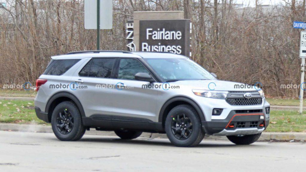 Ford Explorer 2022 sẽ có thêm phiên bản off-road