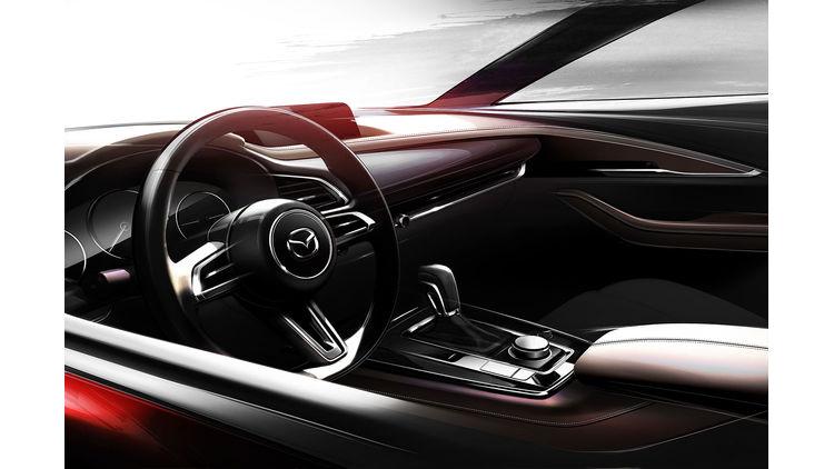 Mazda CX-50 xuống đường thử nghiệm lộ thiết kế SUV lai Coupe